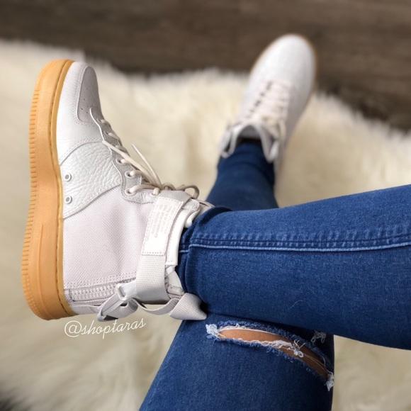 Nike Air Force Sf Mid Vast Grey Gum